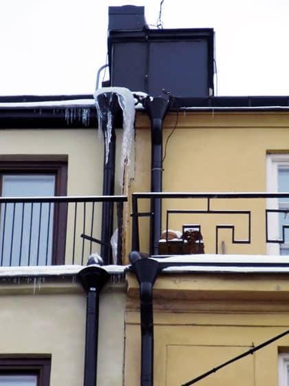 Peter Sotare monterar takvärmeanläggningar